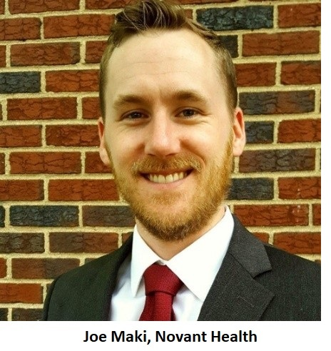 Joe Maki, Novant Health